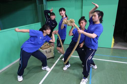 スポーツ大会練習