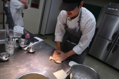 製パン実習。。。