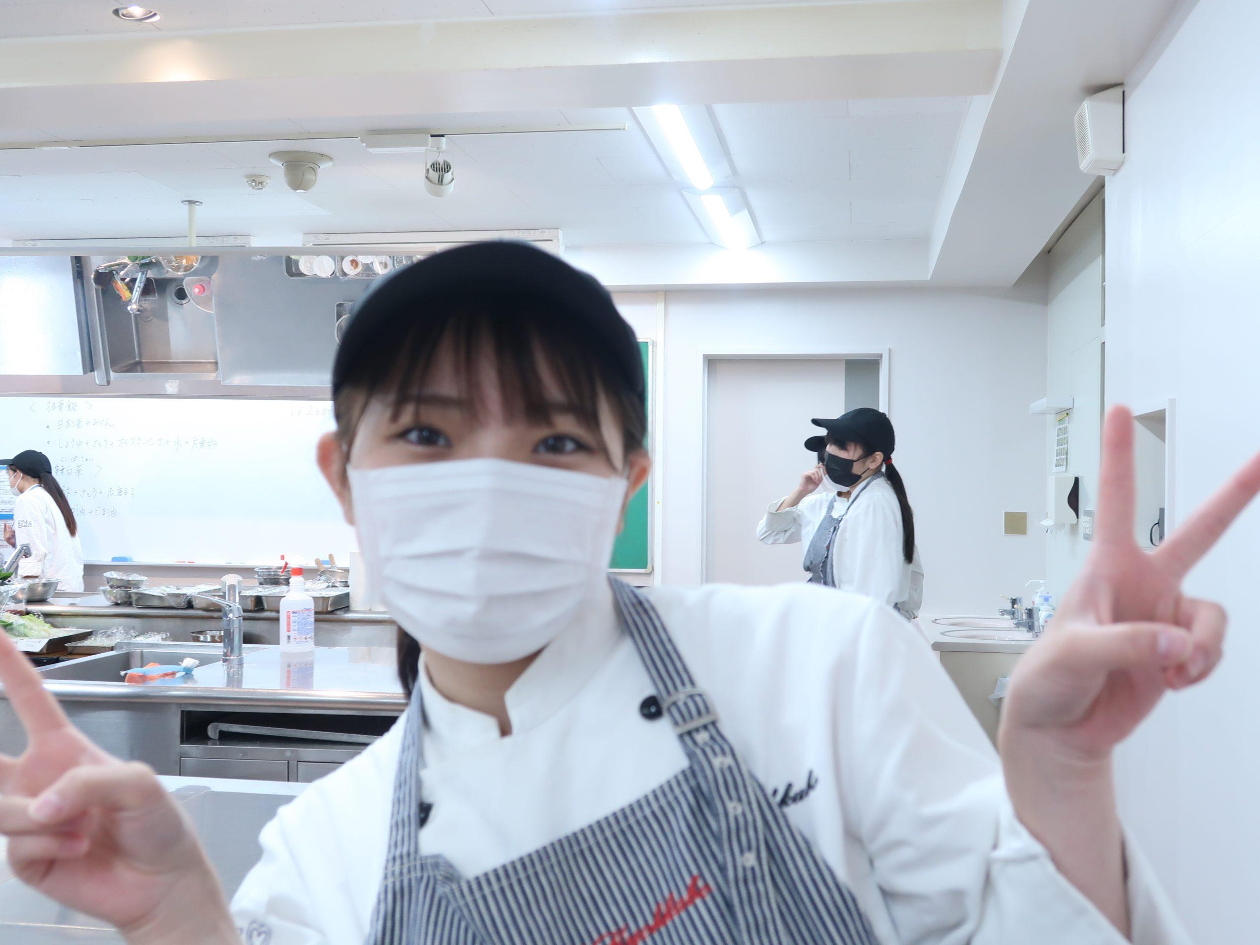 3-1 調理実習の様子
